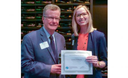 Lauren Williams, PR & Marketing expert, named IABC Houston's volunteer of the month