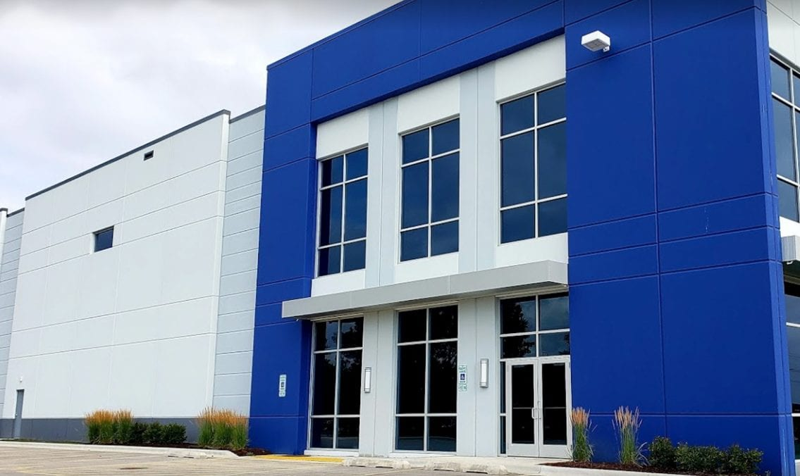 Midwest Order Fulfillment Center - Chicago outside facility shot