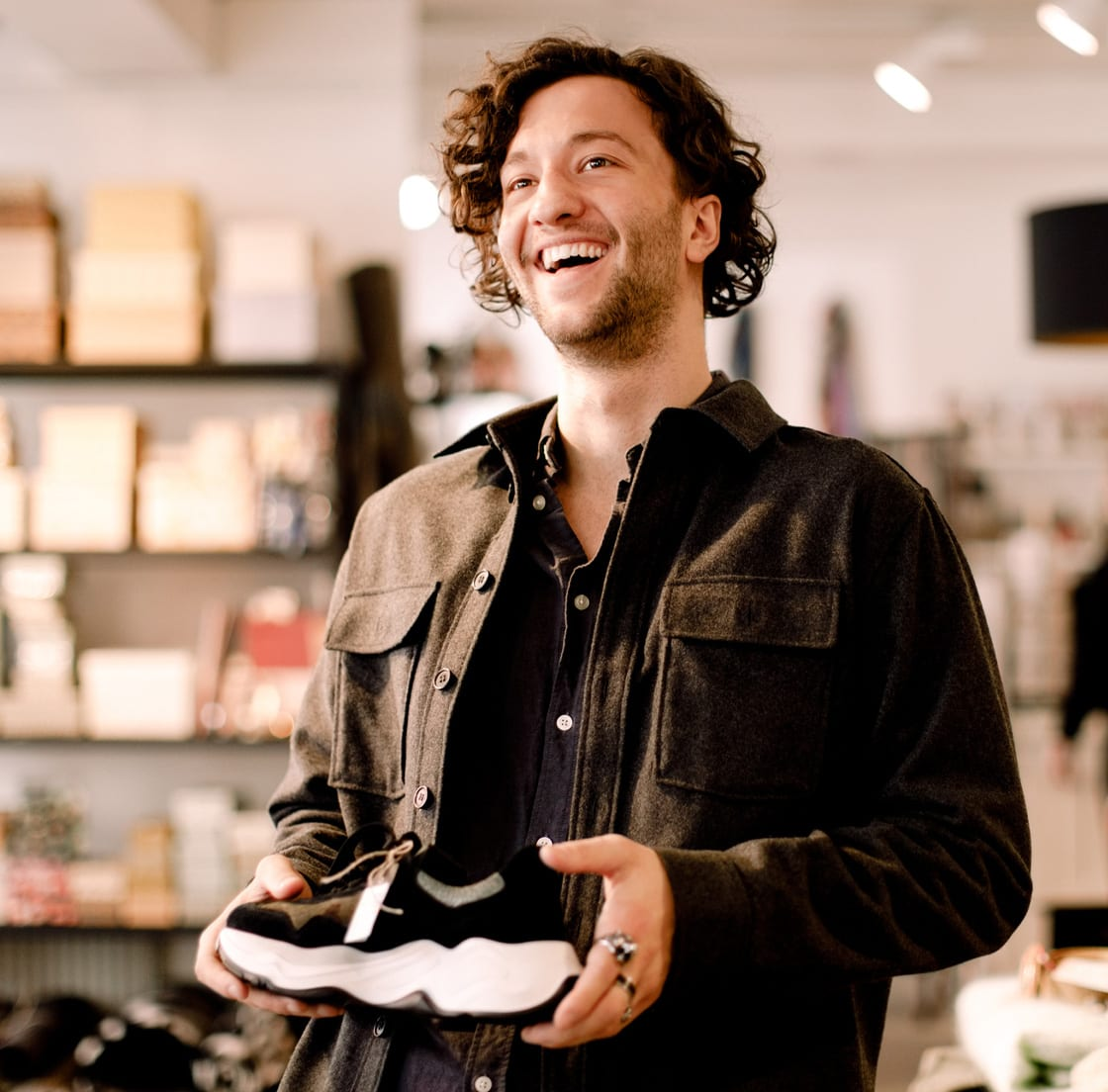 Footwear consumer happy in-store - retail fulfillment solutions